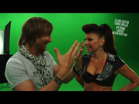 David Guetta & Chris Willis - Gettin' Over You (Behind The Scenes) ft. Fergie & LMFAO