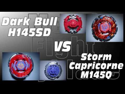 Dark Bull H145SD VS Storm Capricorne M145Q - AMVBB Beyblade Battle