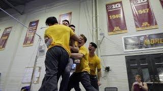 U of M Men's Gymnastics Maroon and Gold Meet Highlights