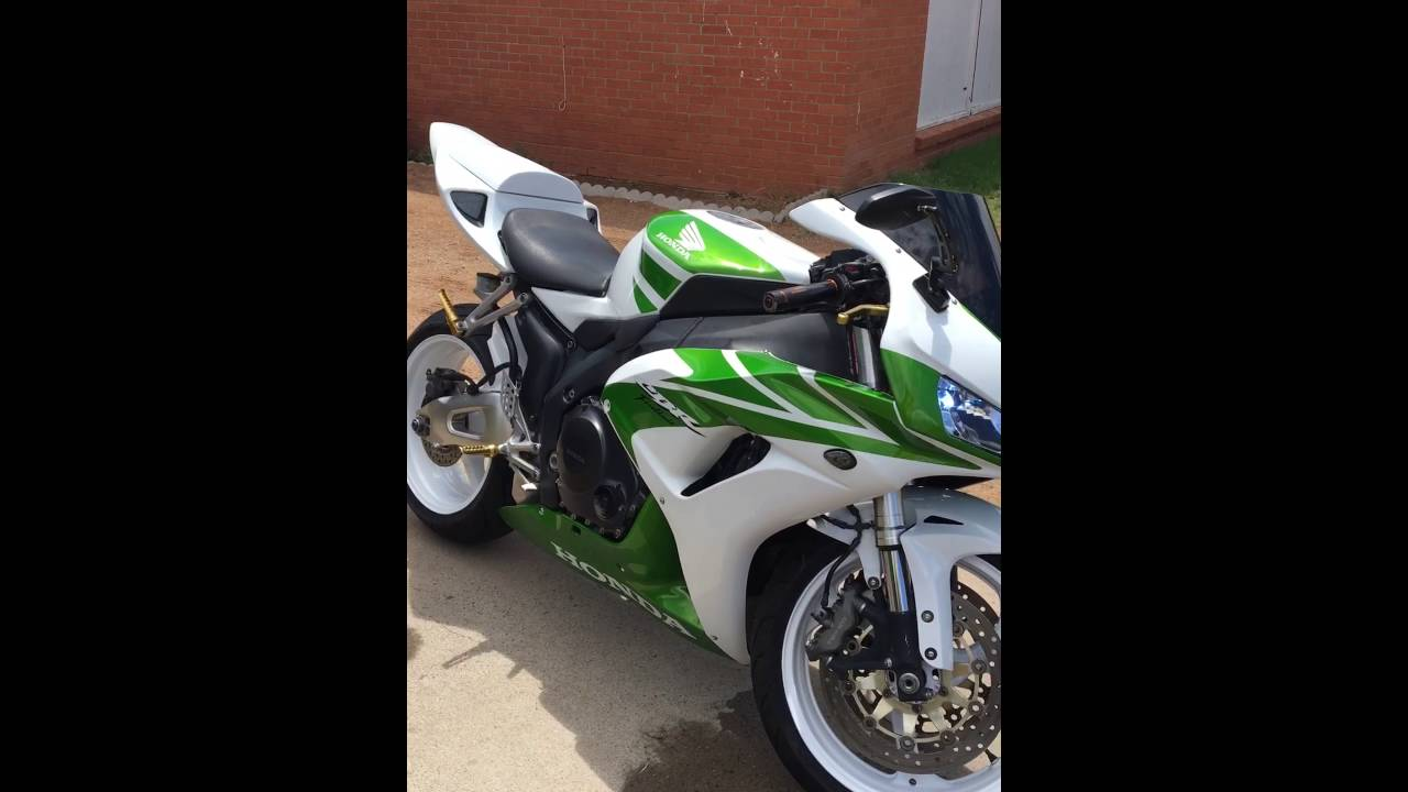 2006 Honda Cbr1000rr With Jti S2 Pipes