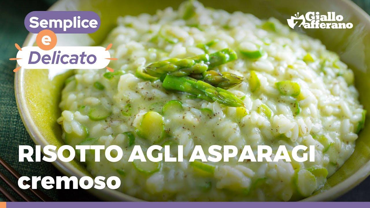 Risotto Asparagi Ricetta Giallozafferano.Risotto Agli Asparagi Ricetta Con Mantecatura Perfetta Youtube