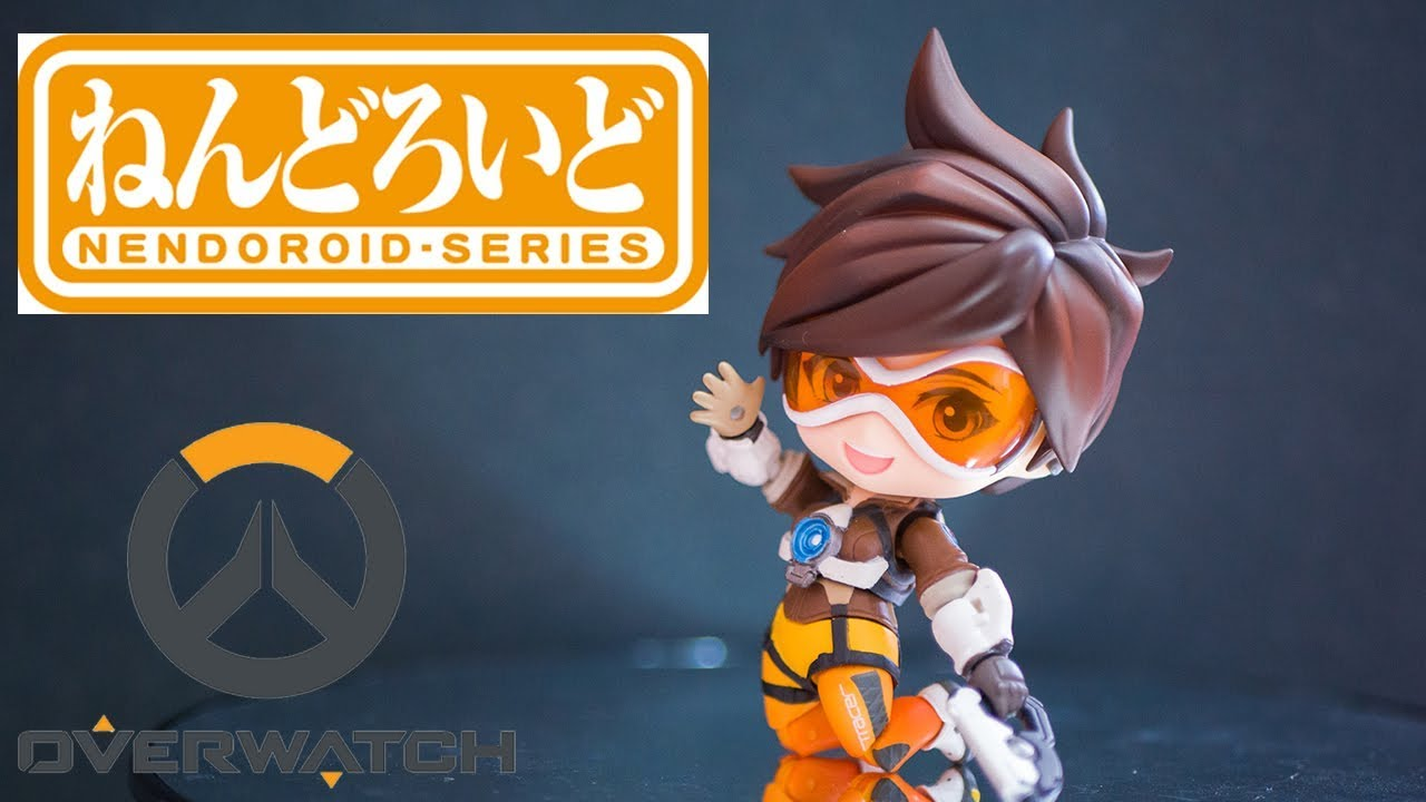 Good Smile Company Nendoroid Overwatch Tracer Classic Skin Edition Figure