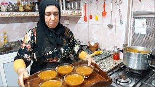 الحريرة المغربية العجيبة بطريقة سريعة