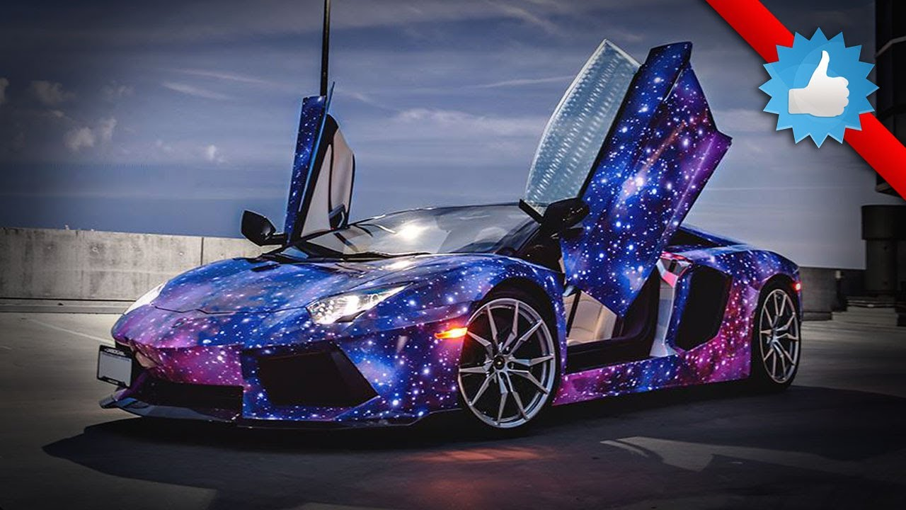 Canadian Lamborghini Aventador Roadster Galaxy Themed