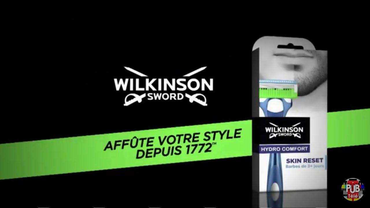 """Musique de la pub Wilkinson Sword """"affûte votre style depuis 1772""""  Septembre 2021"""