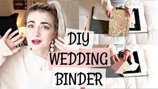 DIY | REALISTIC WEDDING PLANNING BINDER | SIMPLE AND EASY