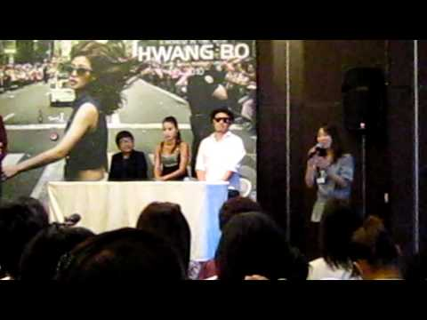 Fancam ♥ Interview with HwangBo★ 2010.09.03.MOV