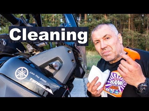 Motorcycle Cleaning - The Right Way To Wash a Motorcycle!