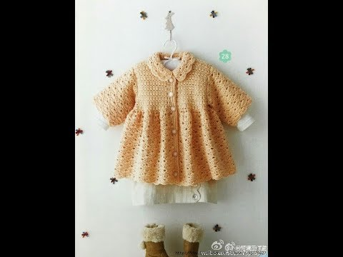 Crochet Patterns| for free |crochet baby dress| 2524