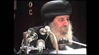 8ـ مقاومة الخطية 07 03 2001 عظات يوم الأربعاء البابا شنودة الثالث