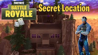 Fortnite New SECRET location *NOT CLICK BATE*