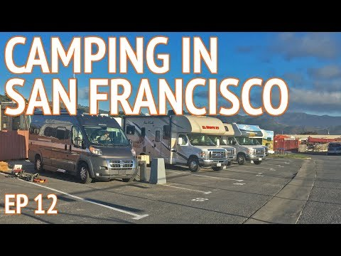 Camping San Francisco Bay Area | EP 12 Camper Van Life