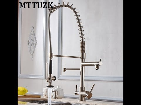 Best Water Kitchen Faucet 3 Way Double Function Filler Kitchen