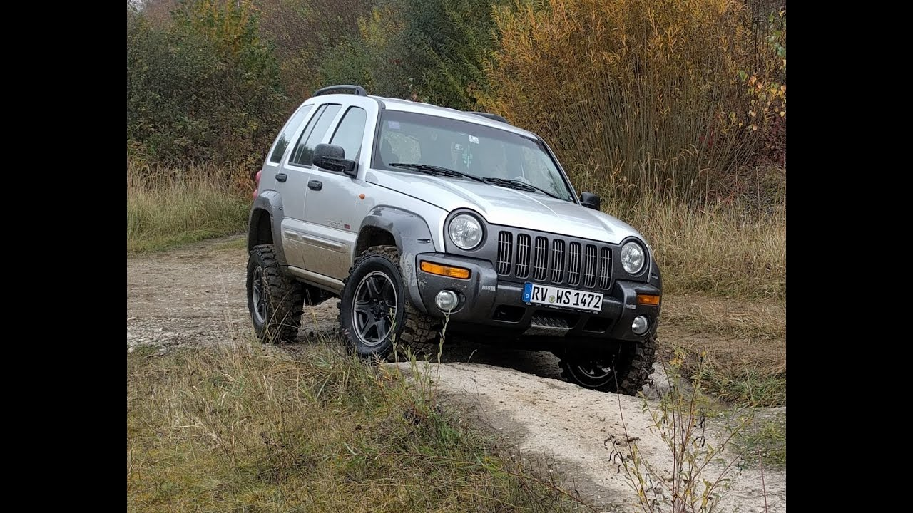 Jeep Cherokee Liberty KJ Off Road Test HD - YouTube