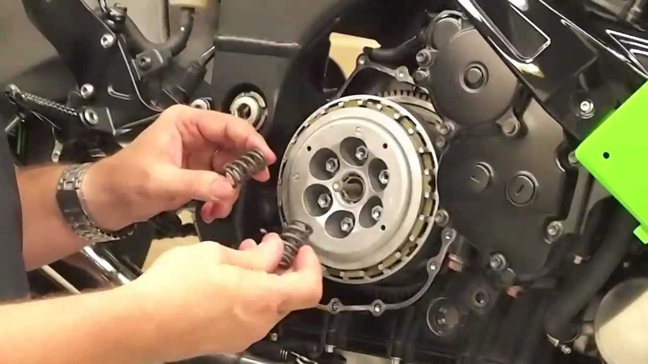 Kawasaki Zx 10r 08 18 Clutch Cushion Kit Installation P N Zx9r Wiring Diagram Free Picture Schematic 270617 Youtube