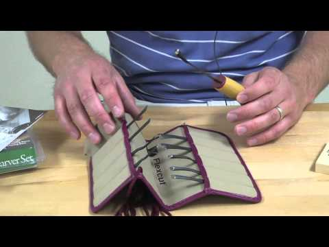 How to Use the Flexcut Travel Set, Flexcut Interchangeable Woodcarving Set