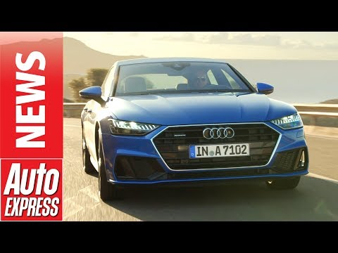 New 2018 Audi A7 Sportback - meet the 335bhp Porsche Panamera rival
