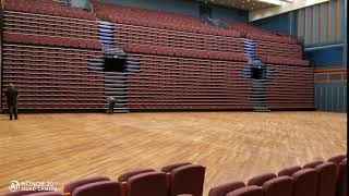 Avant sports retractable seating -- Denmark Falconer Music Hall