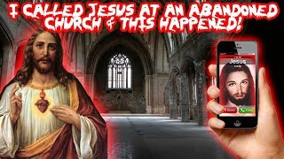 CALLING JESUS FROM AN ABANDONED CHURCH! FOUND THIS INSIDE | MOE SARGI