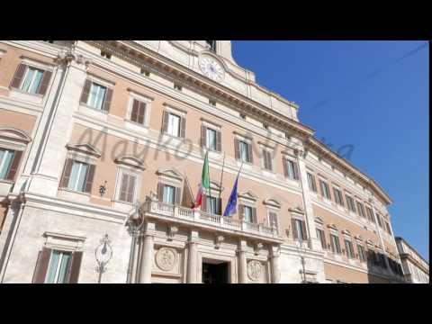 Palazzo Montecitorio. Rome,