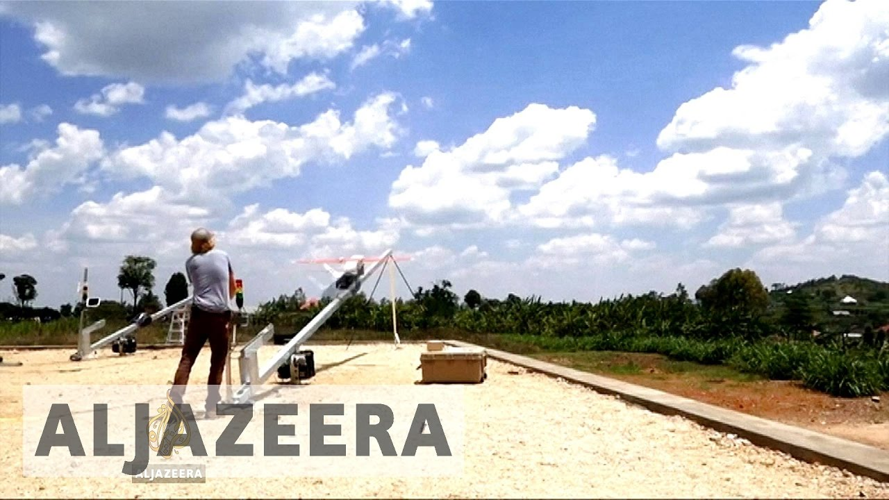 Drones Deliver Blood to Remote Hospitals in Rwanda