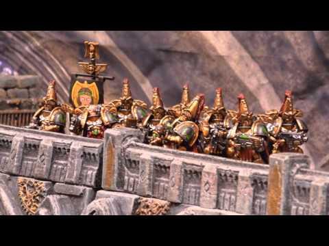 Warhammer 40k Stop Motion Battle Report Season 3 FINAL Custodes v World Eaters