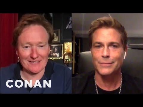 Rob Lowe On His Friendship With Chris Farley - CONAN on TBS