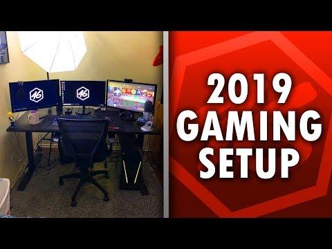 Updated Setup Tour! (2019 Gaming & Streaming Setup)