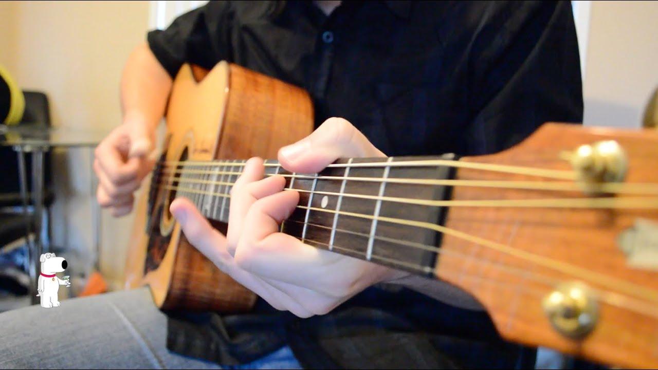 Family Guy Theme - Fingerstyle Guitar - Paul Zeedijk