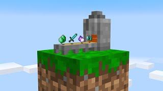 I built an UNLIMITED ITEM FARM on 1 block Skyblock... (#14)