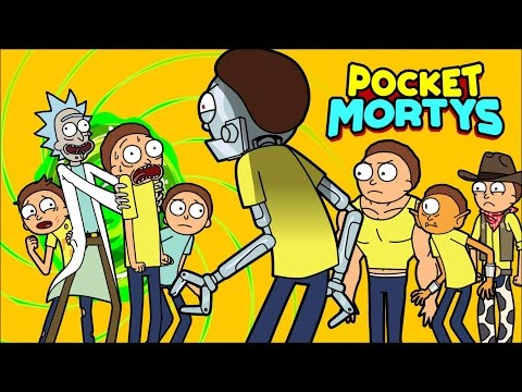 POCKET MORTYS 1st Hour + Gameplay ★ NEW Rick & Morty Game!