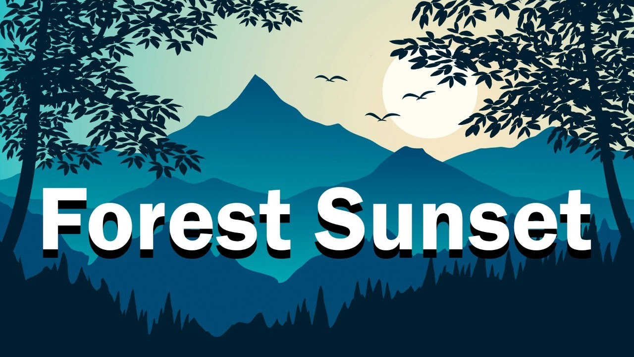 Jazzy Beats - Forest Sunset - Lofi Hip Hop Jazz Music to Relax, Study, Work and Chill