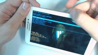 Samsung Galaxy Tab 3 7.0 SM T211 - How to reset - Como restablecer datos de fabrica