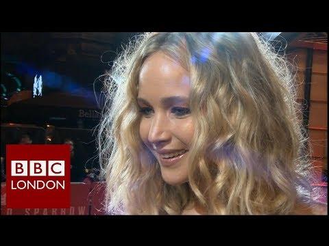 Jennifer Lawrence 'Red Sparrow'   BBC London