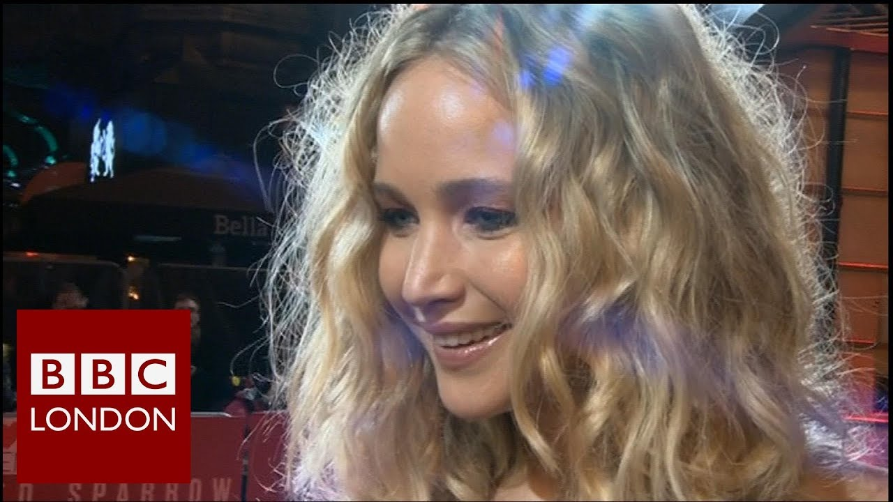 Jennifer Lawrence 'Red Sparrow' interview - BBC London News - YouTube