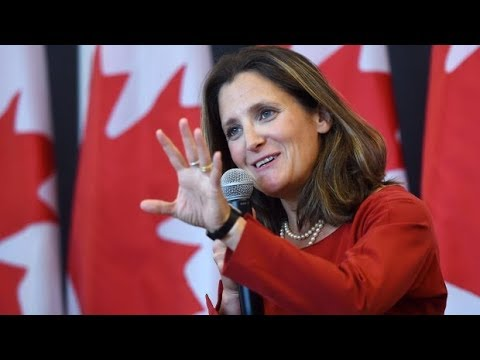 Canada's goals for 'progressive' NAFTA include labour and environmental standards, gender equality