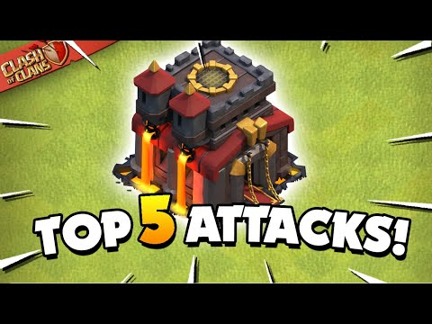 TOP 5 BEST TH10 Attack Strategies In 2020 (Clash Of Clans)