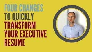 Executive CV Tips