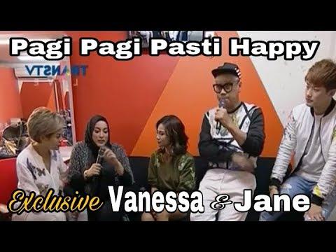 [EKSKLUSIF] VANESSA ANGEL DAN JANE SHALIMAR KETEMU @ PAGI PAGI PASTI HAPPY