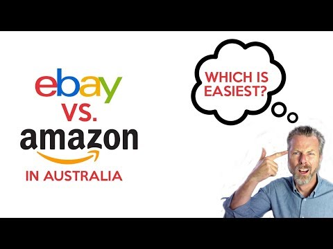 EBAY VS AMAZON IN AUSTRALIA WHICH IS EASIEST