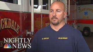 Firefighter Befriends Boy He Saved After Texas Church Massacre | NBC Nightly News