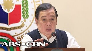 Sen. Gordon discusses result of probe on policemen who allegedly resell illegal drugs