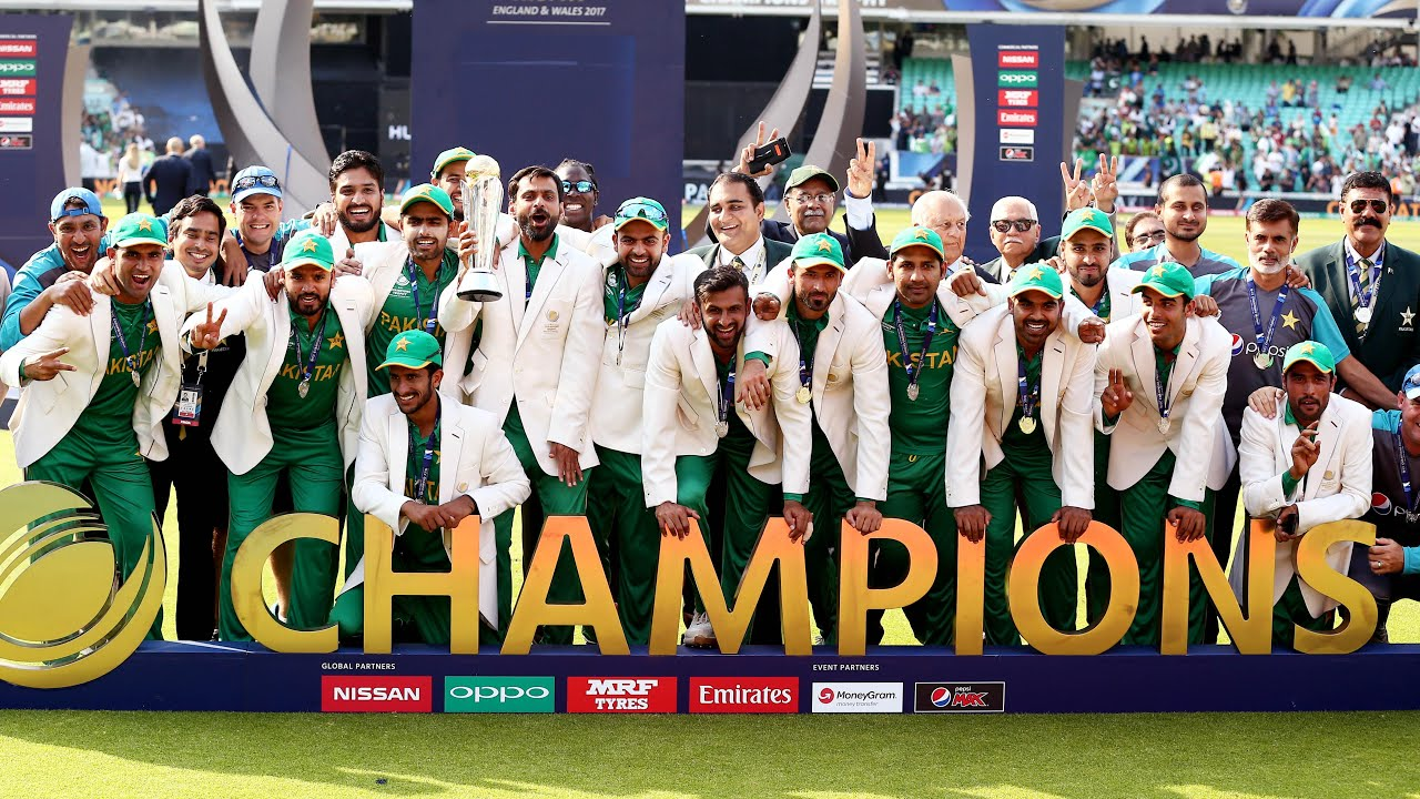 Pakistan beat India by 180 runs to win ICC Champions Trophy 2017 final – as it happened | Sport | The Guardian