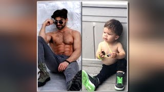 Baby Spoofs Uncle's Modeling Photos on Adorably Funny Instagram Account
