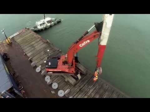 Offshore vertical drainage, Cowes, Great Britain  | Cofra B.V.