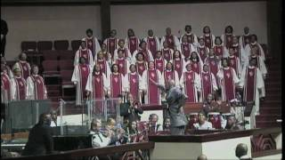 Adult Choir Singing The Lord Is Blessing Me - Bishop Larry Trotter