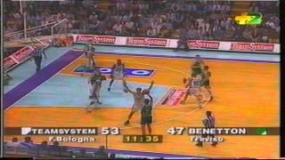 1997 G3 Teamsystem Fortitudo Bologna vs Benetton Treviso