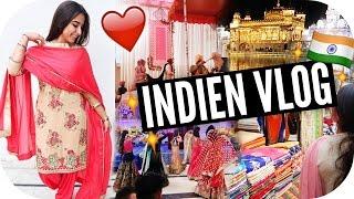 INDISCHE HOCHZEIT, Ich TANZE! Shoppen & Golden Tempel - Indien Vlog - Impressions Video | Sanny Kaur