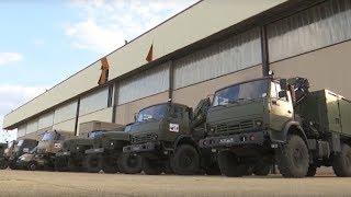 Военные специалисты РФ направились в Бергамо для борьбы с коронавирусом