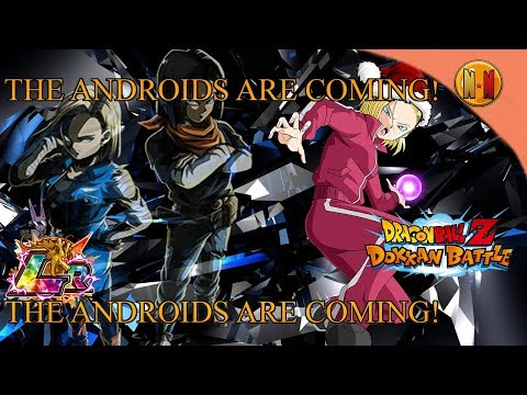 NNN: BREAKING NEWS!! THE ANDROIDS ARE COMING??!! | DRAGON BALL Z DOKKAN BATTLE